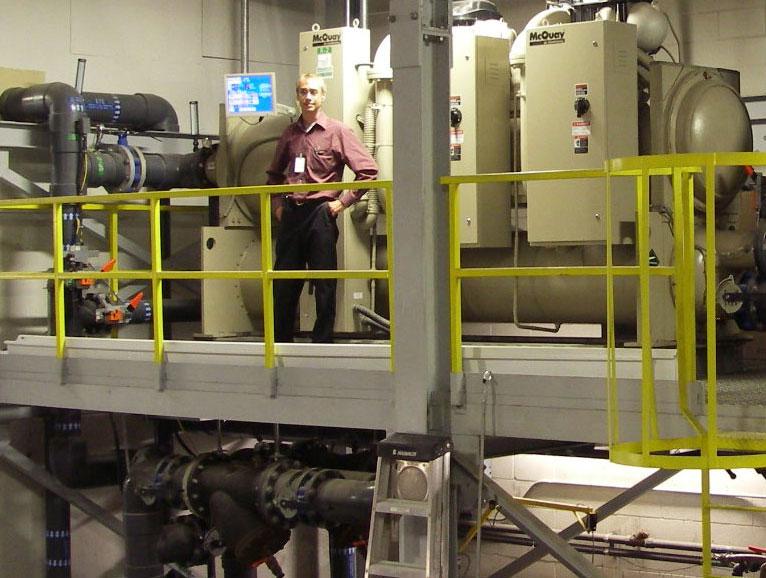 Projet Soniplastics - Refroidisseur centrifuge magnétique McQuay