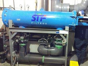 Filtration automatique à 100% du débit